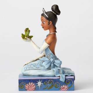 Jim Shore Disney Traditions - Tiana with Frog - Resilient and Romantic