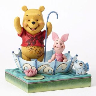 Jim Shore Disney Traditions - Winnie the Pooh & Piglet - 50th Anniversary - 50 Years of Friendship