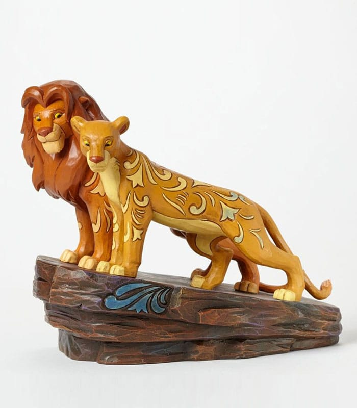 Jim Shore Disney Traditions Simba and Nala Figurine, Jim