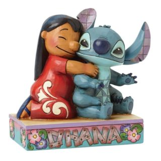 Jim Shore Disney Traditions - Lilo and Stitch - Ohana Means Family