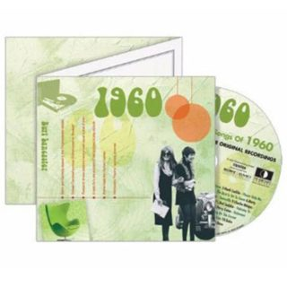 Birthday Gifts or Anniversary Gifts, 1960 Classic Years CD Card