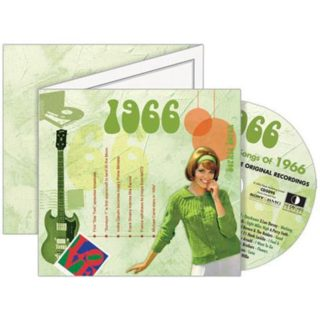 Birthday Gifts or Anniversary Gifts, 1966 Classic Years CD Card