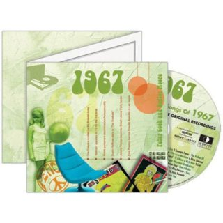 Birthday Gifts or Anniversary Gifts, 1967 Classic Years CD Card