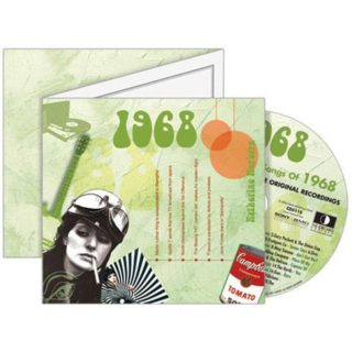 Birthday Gifts or Anniversary Gifts, 1968 Classic Years CD Card