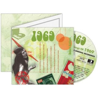 Birthday Gifts or Anniversary Gifts, 1969 Classic Years CD Card