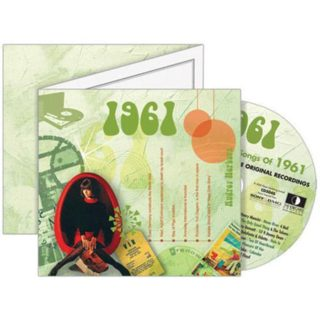 Birthday Gifts or Anniversary Gifts, 1961 Classic Years CD Card