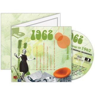 Birthday Gifts or Anniversary Gifts, 1962 Classic Years CD Card