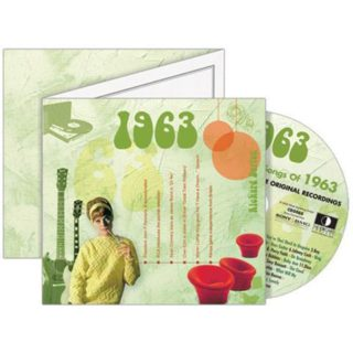 Birthday Gifts or Anniversary Gifts, 1963 Classic Years CD Card