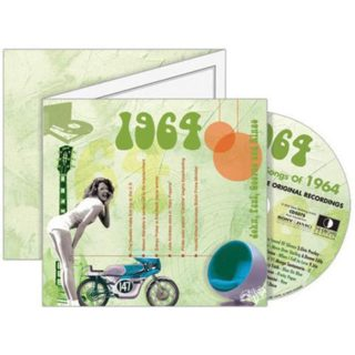 Birthday Gifts or Anniversary Gifts, 1964 Classic Years CD Card