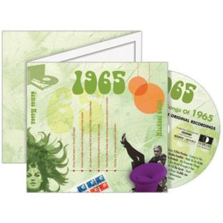 Birthday Gifts or Anniversary Gifts, 1965 Classic Years CD Card