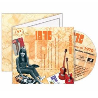 Birthday Gifts or Anniversary Gifts, 1970 Classic Years CD Card
