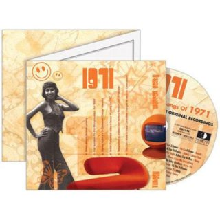 Birthday Gifts or Anniversary Gifts, 1971 Classic Years CD Card
