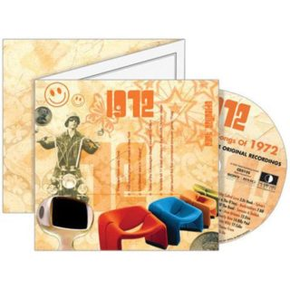 Birthday Gifts or Anniversary Gifts, 1972 Classic Years CD Card