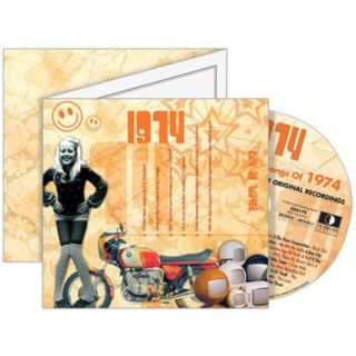 Birthday Gifts or Anniversary Gifts, 1974 Classic Years CD Card