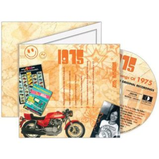 Birthday Gifts or Anniversary Gifts, 1975 Classic Years CD Card