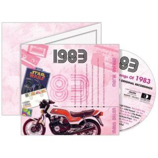 Birthday Gifts or Anniversary Gifts, 1983 Classic Years CD Card