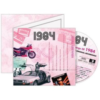 Birthday Gifts or Anniversary Gifts, 1984 Classic Years CD Card
