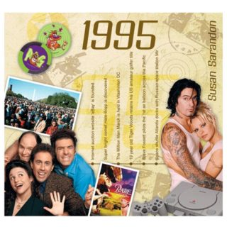 Birthday Gifts or Anniversary Gifts, 1995 Classic Years CD Card