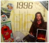 Birthday Gifts or Anniversary Gifts, 1996 Classic Years CD Card