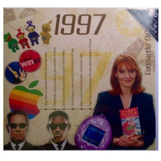 Birthday Gifts or Anniversary Gifts, 1997 Classic Years CD Card