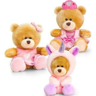 Pipp the Bear Fantasy (Unicorn/ Princess/ Heart) - Stuffed Bear Korimco