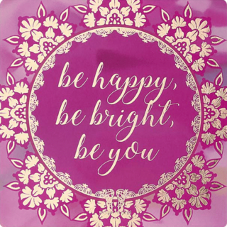 You Are An Angel Fridge Magnet - Be Happy, Be Bright, Be You