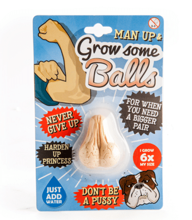 Man Up, Grow Some Balls - Adult Novelty