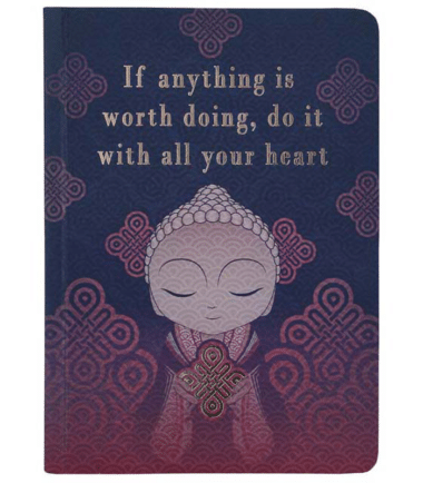 Little Buddha – Notebook – Do It With All Your Heart
