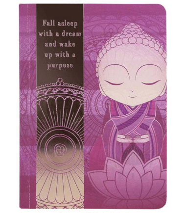 Little Buddha – Notebook – Wake Up With a Purpose