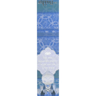 Little Buddha – Magnetic Bookmark – The Only Impossible Journey