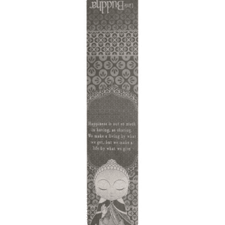 Little Buddha – Magnetic Bookmark – Make a Life By What We Give