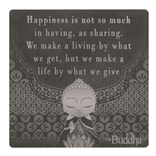 Little Buddha – Magnet – Make a Life By What We Give