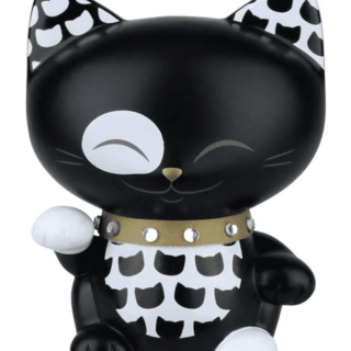 Mani The Lucky Cat Figurine – Black - Small, gift idea for girls