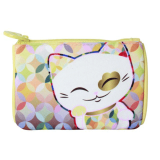 Mani The Lucky Cat – Coin Purse – Gold (Cat 029)