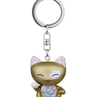 Mani The Lucky Cat Keychain – Gold, gifts for girls, lucky gifts