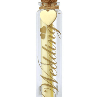 You Are An Angel - Wedding Wish Bottle - Message in a Bottle