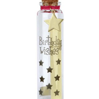 You Are An Angel - Birthday Wishes Wish Bottle - Message in a Bottle