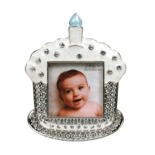Dakota – Silver Plated First Birthday Cupcake Photo Frame