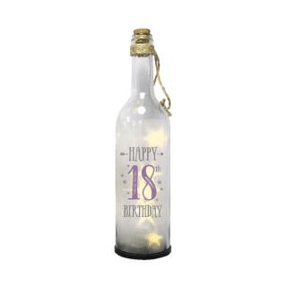 18th Birthday Starlight Bottle – Happy 18th Birthday