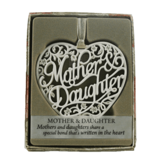 Delicate Words – Mother and Daughter Sentiment Hanger