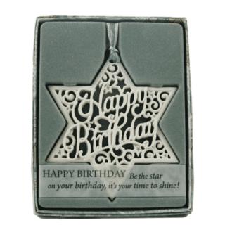 Delicate Words – Happy Birthday Sentiment Hanger