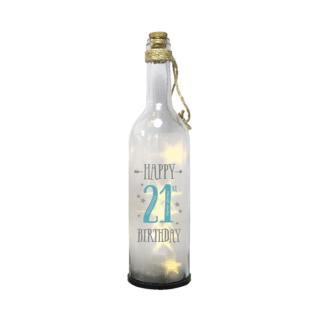 21st Birthday Starlight Bottle – Happy 21st Birthday