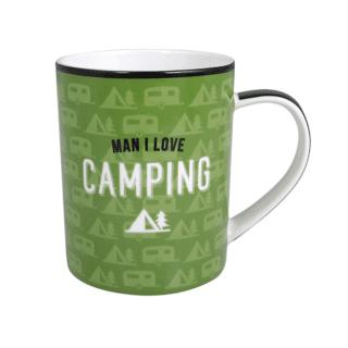 Artique – Man I Love Camping Mug