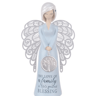 You Are An Angel Figurine -Family blessing