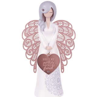 You Are An Angel Figurine - First my mother forever my friend