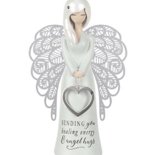 You Are An Angel Figurine -Sending you healing energy & angel hugs
