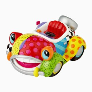 Britto Disney Benny The Cab Figurine. Disney by Britto Collection