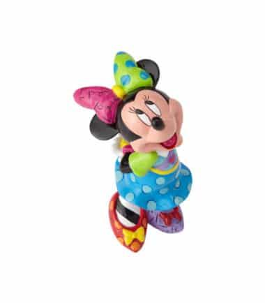 Britto Disney Looking Up Minnie Mouse Mini Figurine
