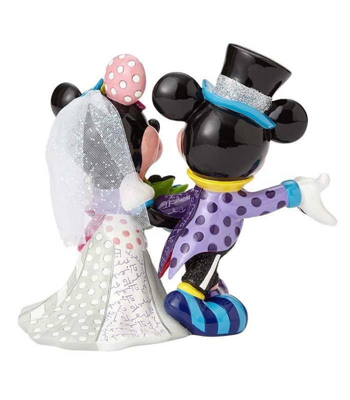 Mickey And Minnie Wedding.Britto Disney Mickey Minnie Wedding Figurine Disney Collectibles