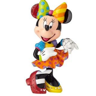 Britto Disney Minnie Mouse 90th Anniversary Large Figurine